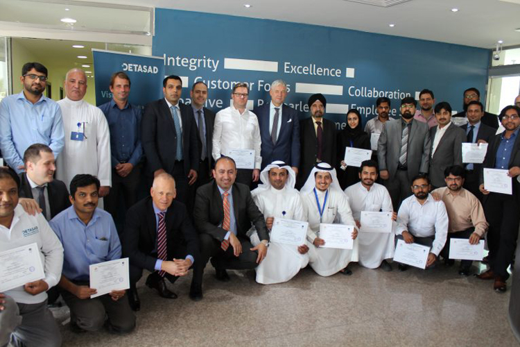 DETASAD CERTIFIED EMPLOYEES IN INTERNATIONALLY RECOGNIZED LEAN SIX SIGMA GREEN BELT PROGRAM