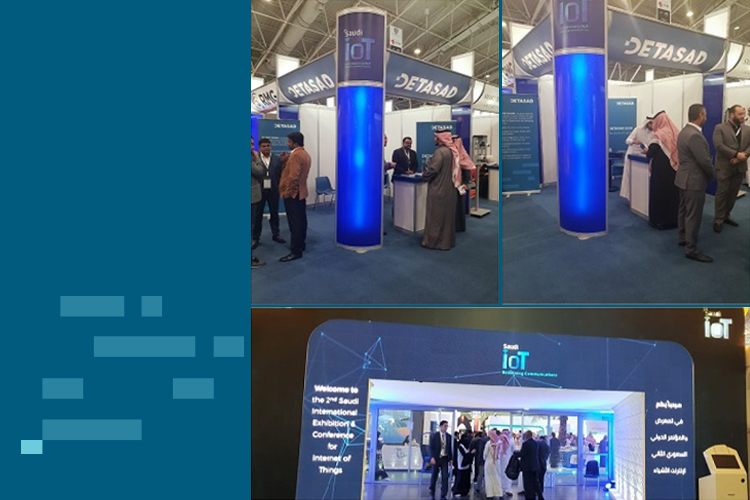 DETASAD SPONSORED THE 2ND SAUDI INTERNATIONAL EXHIBITION & CONFERENCE FOR IOT IN RIYADH