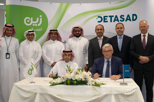 DETASAD SIGNED STRATEGIC AGREEMENT WITH ZAIN KSA ON CLOUD AND MANAGED SERVICES