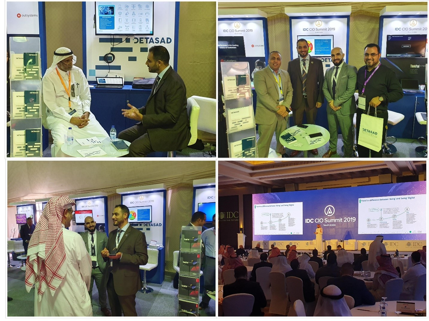 DETASAD SPONSORED THE IDC CIO SUMMIT 2019 in Jeddah