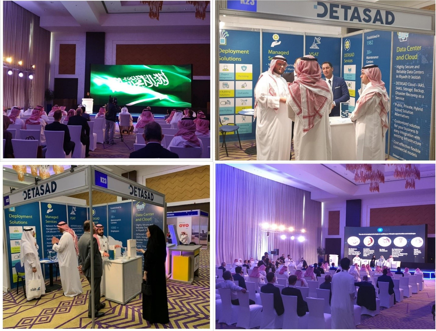 DETASAD is delighted to sponsor the Saudi Emerging Technologies Forum in Riyadh