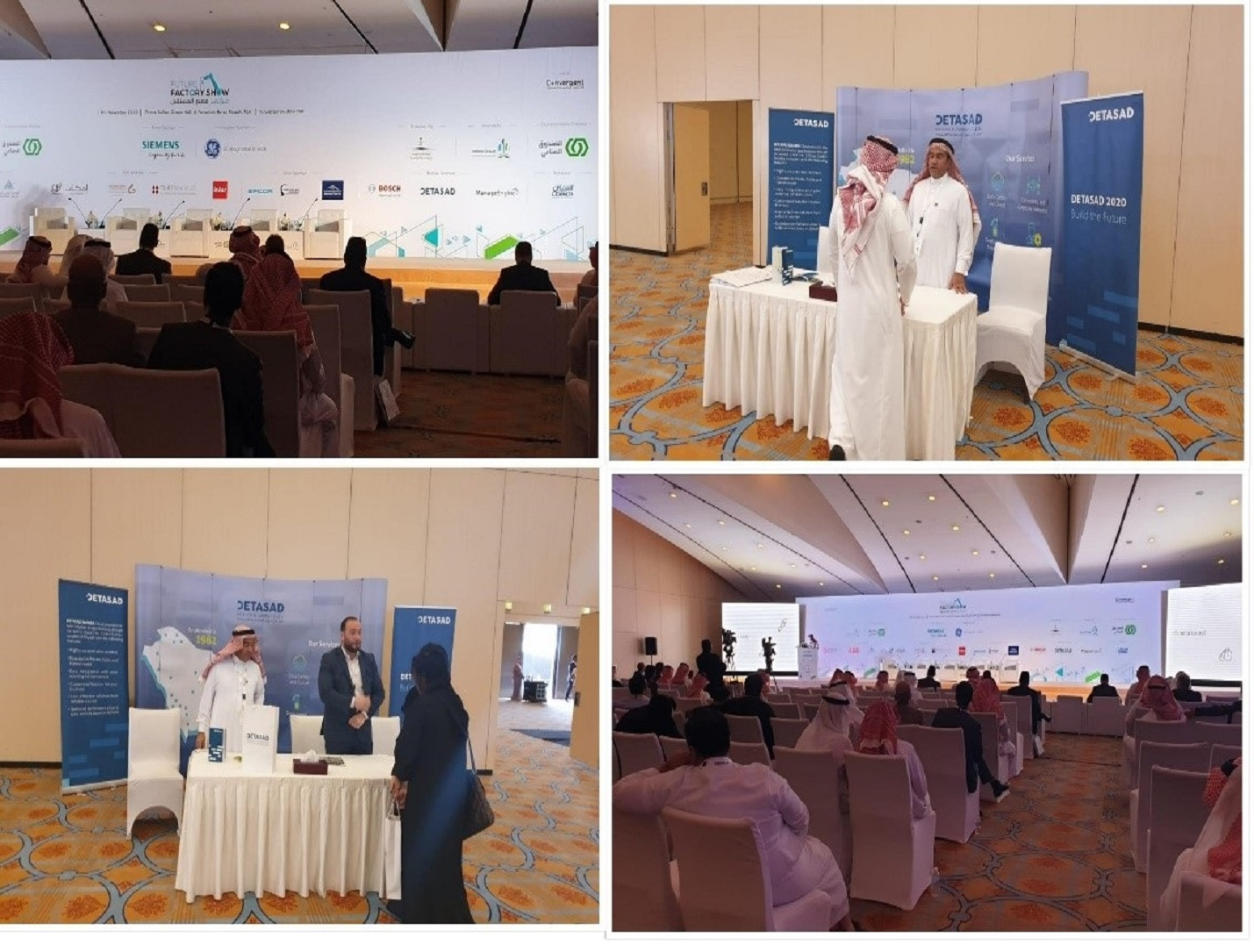 DETASAD continues to support Industry 4.0 by sponsoring the Future Factory Show in Riyadh