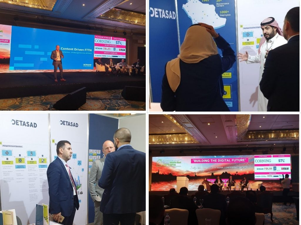DETASAD IS DELIGHTED TO SPONSOR FTTH MENA 2019 IN CAIRO, EGYPT AS ONE OF THE LEADING FTTH INFRASTRUCTURE SOLUTIONS PROVIDER