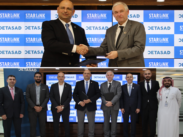 DETASAD ANNOUNCED SIGNING PARTNERSHIP AGREEMENT WITH STARLINK