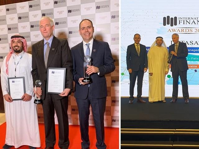 تفتخر ديتاساد بالحصول على جائزتين في جوائز التمويل الدولية 2019