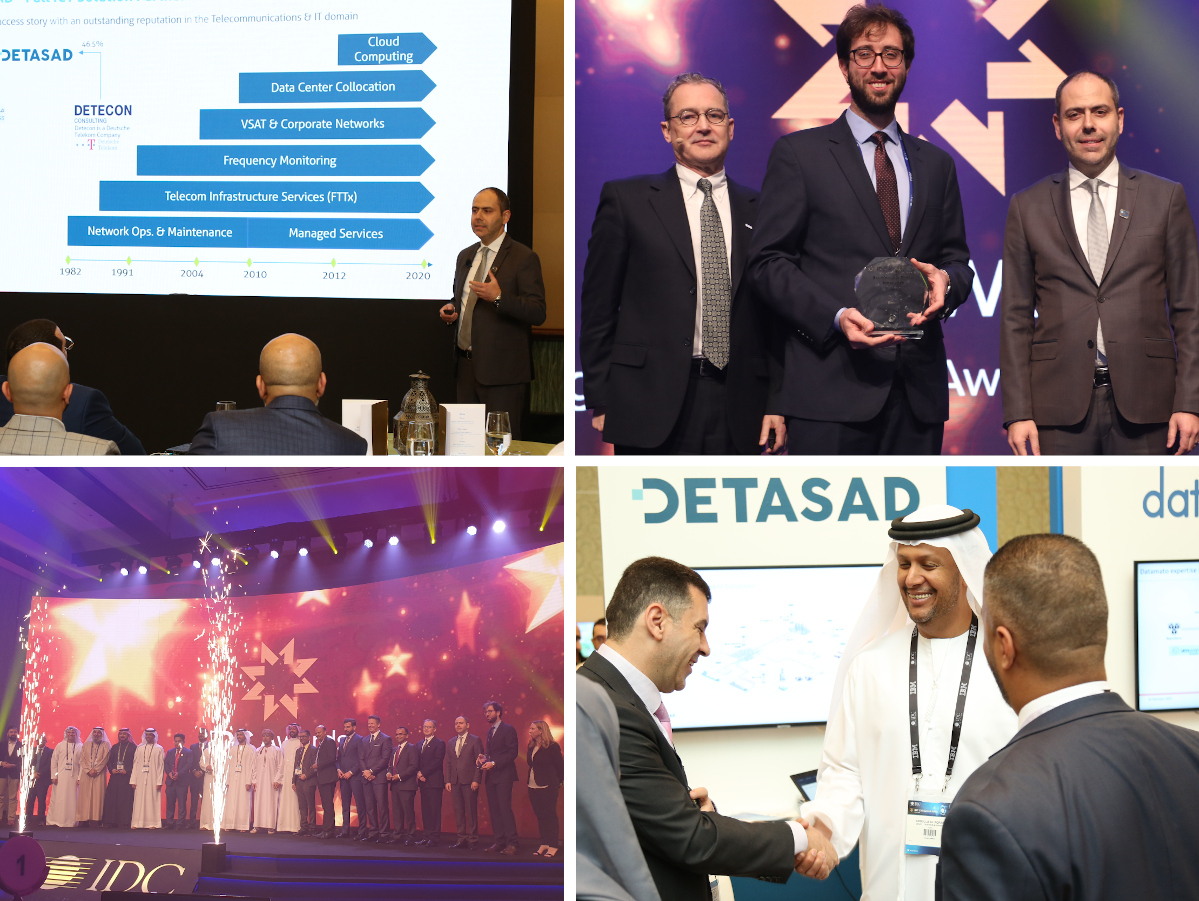 DETASAD SPONSORED IDC MIDDLE EAST CIO SUMMIT IN DUBAI